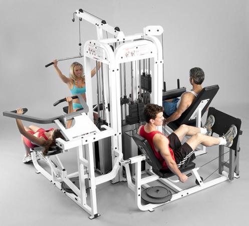 Fitness pro aparatos de gimnasio para el hogar for Gimnasio el gym